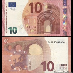 10 EUROS - SIGNATURE DRAGHI - PICK 21 E ...