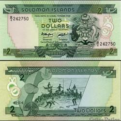 ILES SALOMON - PICK 13 a - 2 DOLLARS - 1...