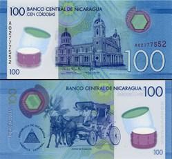 NICARAGUA - PICK 212 a  - 100 CORDOBAS -...