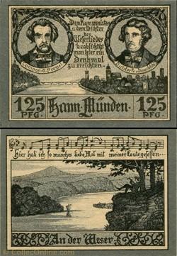 Hannoversch Münden 125 pfennig