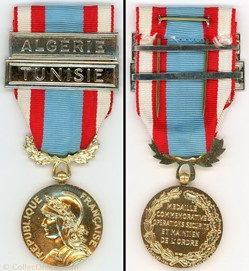 Médaille commémorative des opérations de...