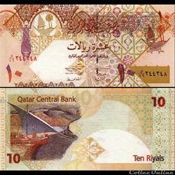 QATAR - PICK 22 - 10 RIALS - 2003