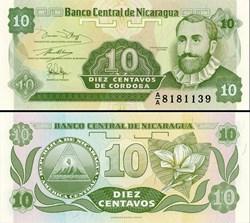 NICARAGUA - PICK 169 a1  - 10 CENTAVOS -...