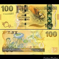FIDJI - PICK 119 - 100 DOLLARS - 2012