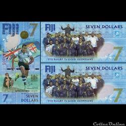 FIDJI - PICK 120 ? - 7 DOLLARS - 2017