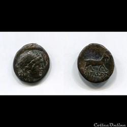 AEOLIS - AEGAE - 200 av. J.-C.