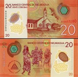 NICARAGUA - PICK 210 a  - 20 CORDOBAS - ...