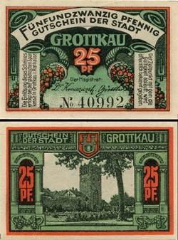 Grottkau - 25 pfennig