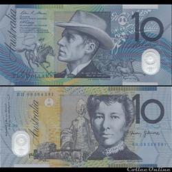 AUSTRALIE - PICK 58 e - 10 DOLLARS - 200...