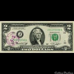 J- Kansas-City District - 2$ Federal Res...