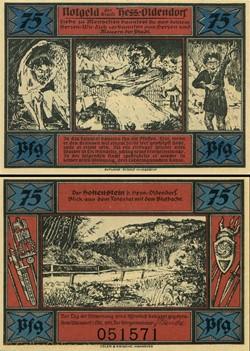 Hessisch Oldendorf 75 pfennig