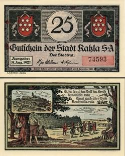 Kahla - 25 Pfennig