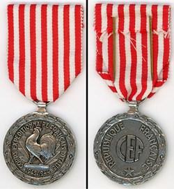 Médaille Commémorative Campagne d'Italie...