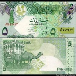 QATAR - PICK 20 - 5 RIALS - 2003