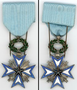 Médaille de l'Ordre de l'Etoile Noire du...