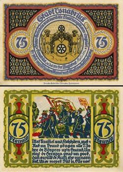 Osnabrück - 75 Pfennig