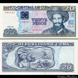 CUBA - PICK 122g - 20 PESOS - 2012