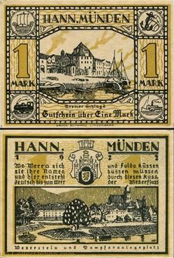 Hannoversch Münden 1 Mark