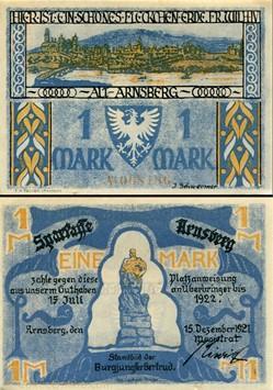 Arnsberg 1 Mark