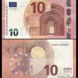 10 EUROS - SIGNATURE DRAGHI - PICK 21 S ...