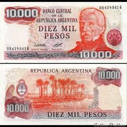ARGENTINE - PICK 306 a3 - 10 000 PESOS -...