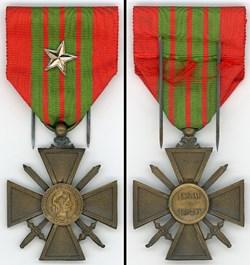 Croix de Guerre 1939-1940