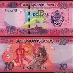 ILES SALOMON - PICK 33a - 10 DOLLARS - 2...