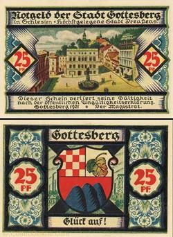 Gottesberg 25 Pfennig