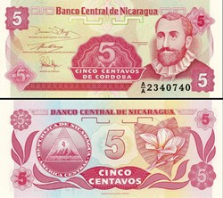 NICARAGUA - PICK 168 a1  - 5 CENTAVOS - ...