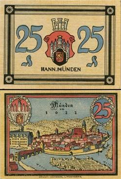 Hannoversch Münden 25 pfennig