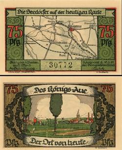 Königsaue 75 pfennig
