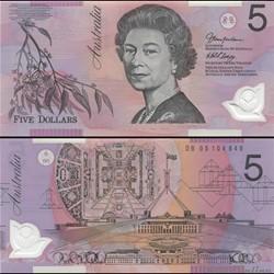 AUSTRALIE - PICK 57 c - 5 DOLLARS - 2005