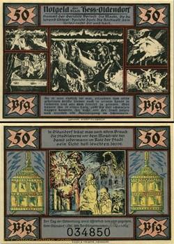 Hessisch Oldendorf 50 pfennig