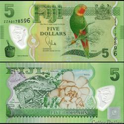 FIDJI - PICK 115 - 5 DOLLARS - 2012