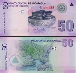 NICARAGUA - PICK 203 a  - 50 CORDOBAS - ...