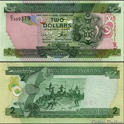 ILES SALOMON - PICK 25 a 1 - 2 DOLLARS -...