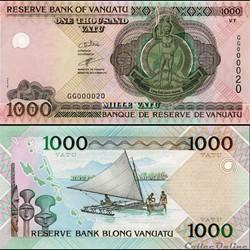 VANUATU - PICK 10 b - 1000 VATU - 2005