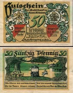 Hannoversch Münden 50 pfennig