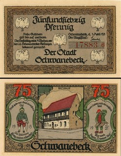 Schwanebeck - 75 Pfennig