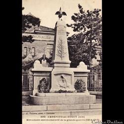 Monuments aux Morts en Cartes Postales