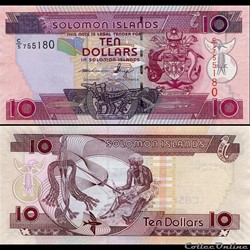 ILES SALOMON - PICK 27 a 3 - 10 DOLLARS ...