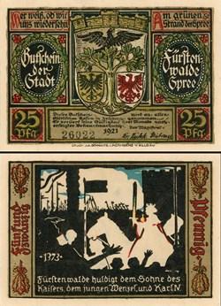 Fürstenwalde - 25 Pfennig