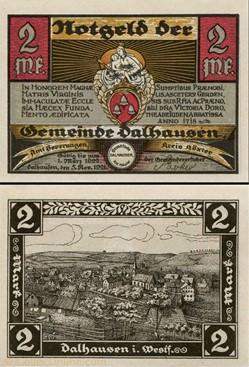 Dahlhausen 2 Mark