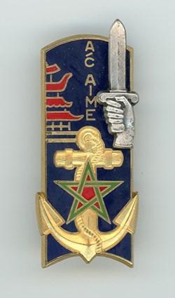 Insigne ENSOA - 134° Promotion Aime Marc...
