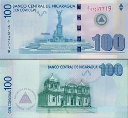 NICARAGUA - PICK 204 a  - 100 CORDOBAS -...