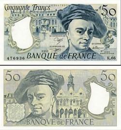 FRANCE - 50 FRANCS - 1991