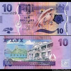 FIDJI - PICK 116 - 10 DOLLARS - 2012