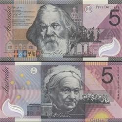 AUSTRALIE - PICK 56 - 5 DOLLARS - 2001