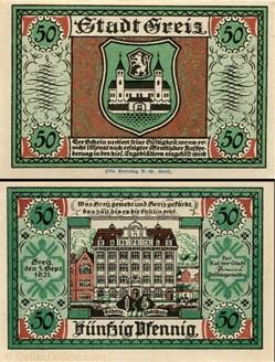 Greiz - 50 pfennig