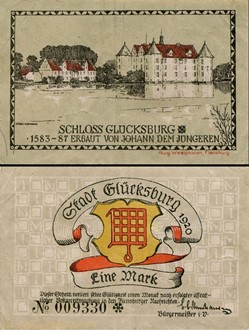 Glücksburg 1 Mark